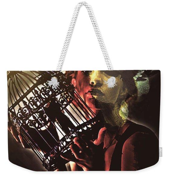Sentence Portrait Weekender Tote Bag