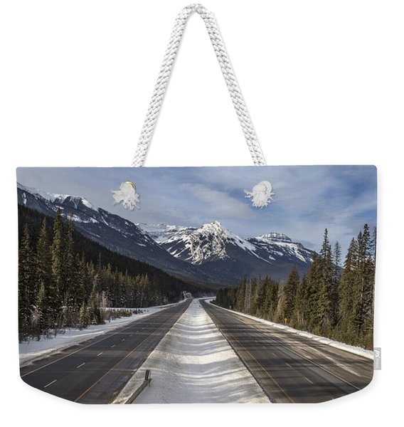 Separate Ways Weekender Tote Bag