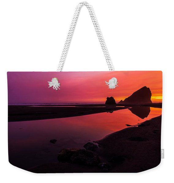 Serenade Flow Weekender Tote Bag