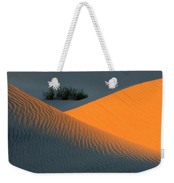 Death Valley Serenade In Light Weekender Tote Bag