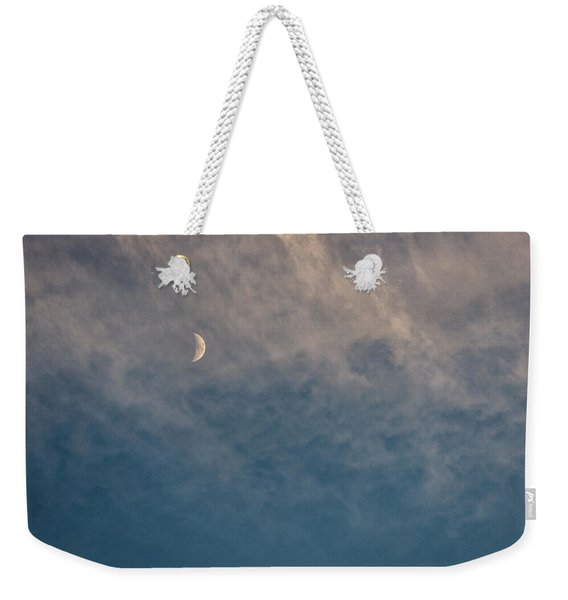 Weekender Tote Bag featuring the photograph Serene by Doug Gibbons