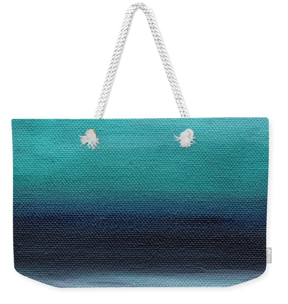 Serenity- Abstract Landscape Weekender Tote Bag