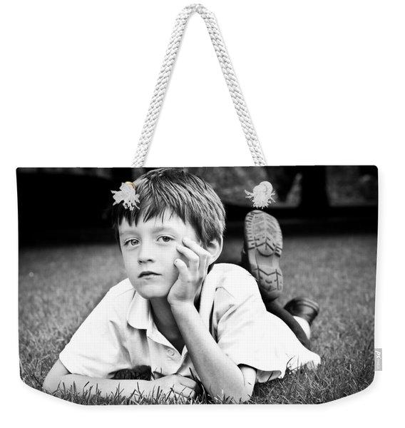 Serious Child Weekender Tote Bag