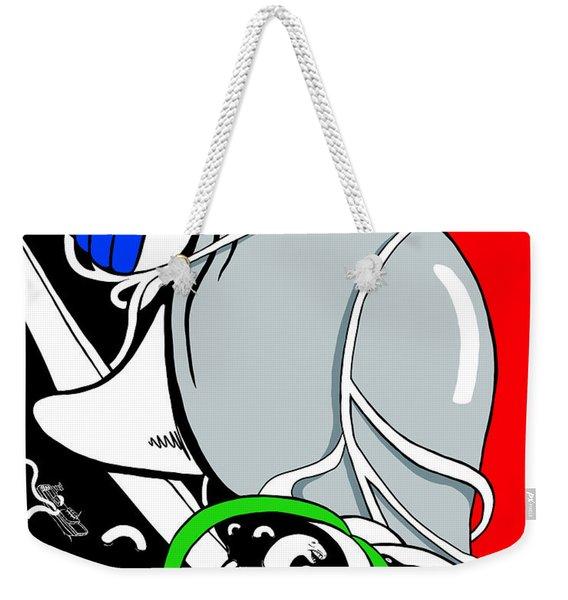 Serpent Of Time Weekender Tote Bag