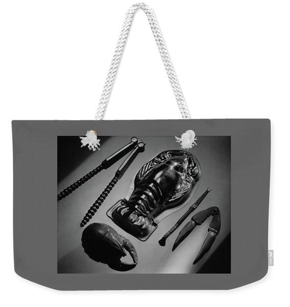 Serveware For Lobster Weekender Tote Bag