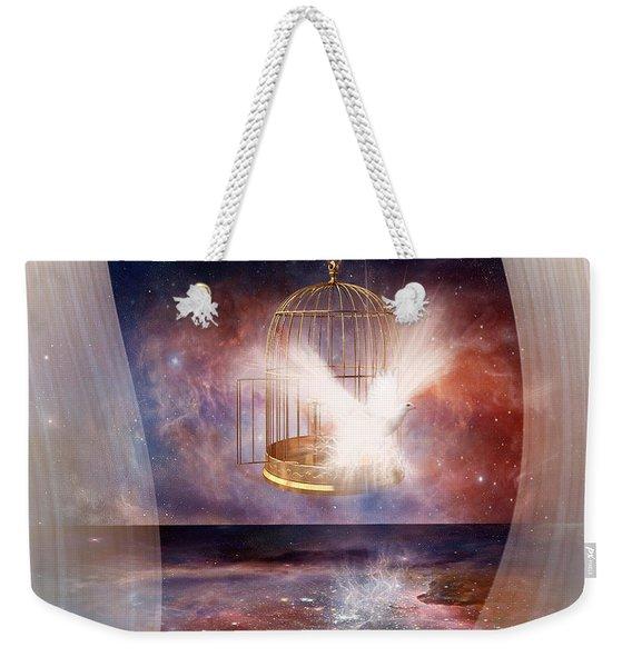 Set Free Weekender Tote Bag