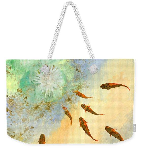 Sette Pesciolini Verdi Weekender Tote Bag