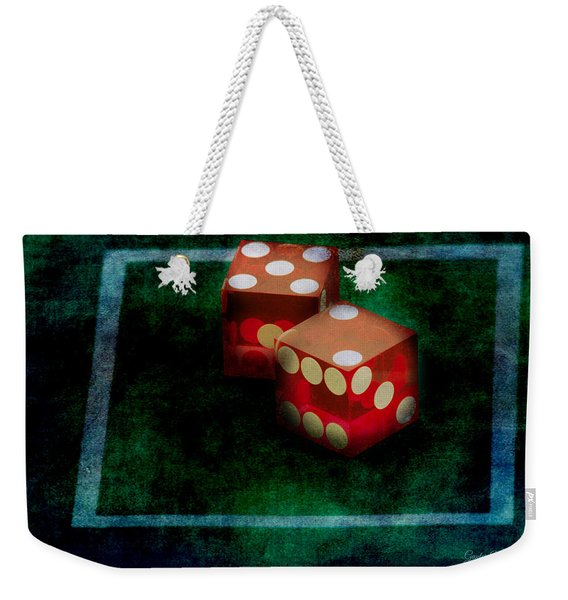 Weekender Tote Bag featuring the photograph Seven by Gunter Nezhoda