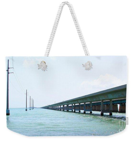 Seven Mile Bridge Weekender Tote Bag