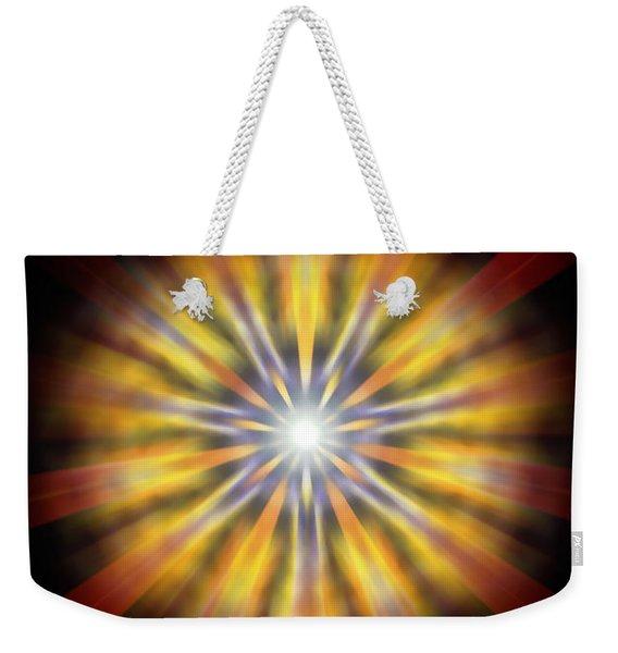 Seven Sistars Of Light Weekender Tote Bag