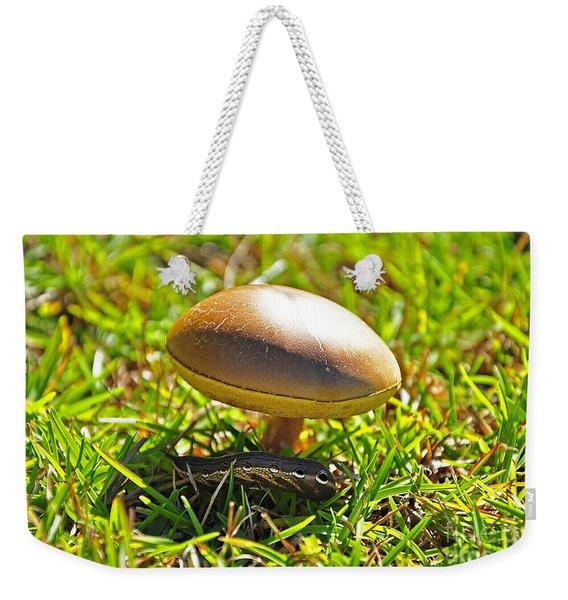 Shade Of The Shroom Weekender Tote Bag