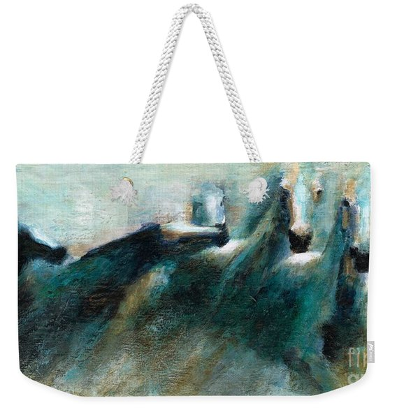 Shades Of Blue Weekender Tote Bag