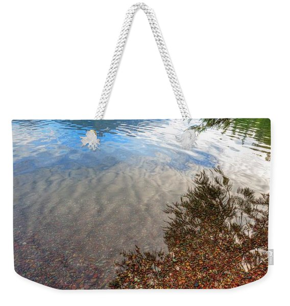 Shadow Pebbles Weekender Tote Bag