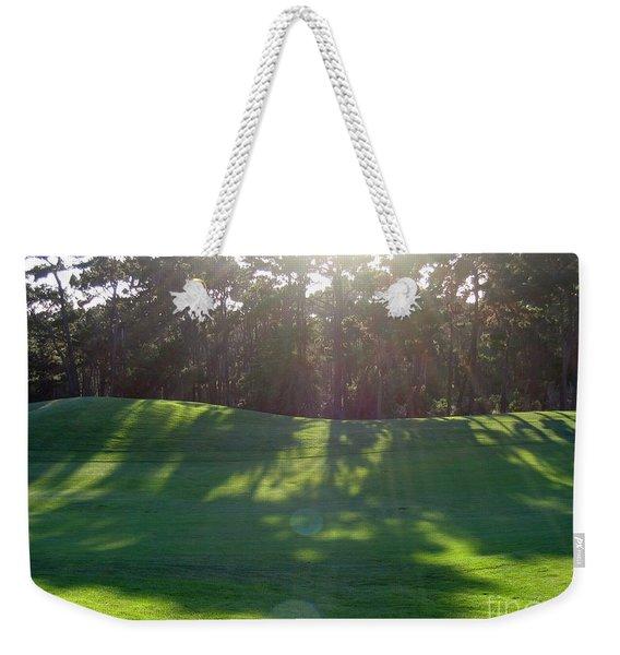 Shadows At Poppy Hills Weekender Tote Bag