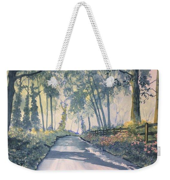 Shadows On The Setterington Road Weekender Tote Bag
