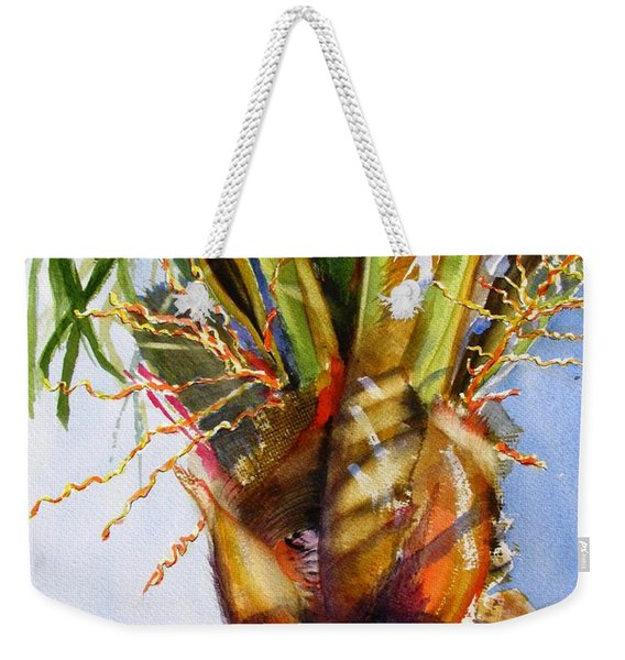 Shady Palm Tree Weekender Tote Bag