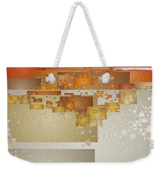 Shaken At Sunset Weekender Tote Bag