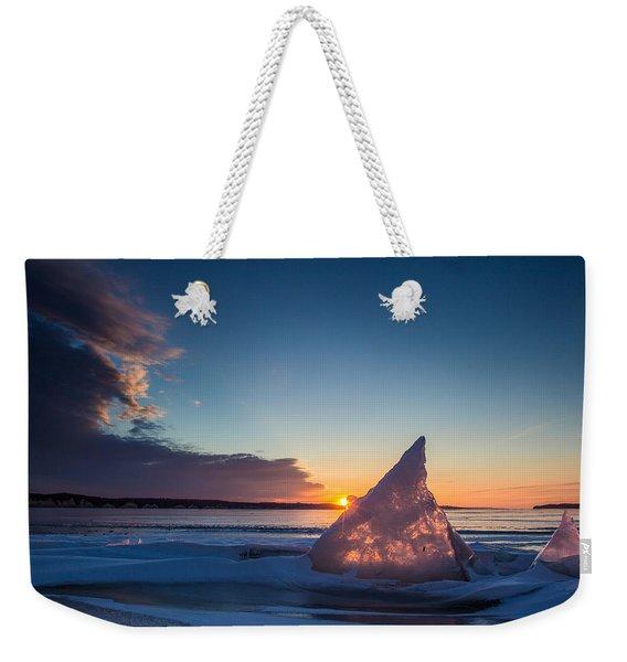 Shark Fin Weekender Tote Bag