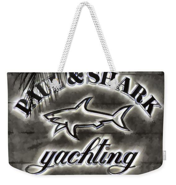 Shark Sign Weekender Tote Bag
