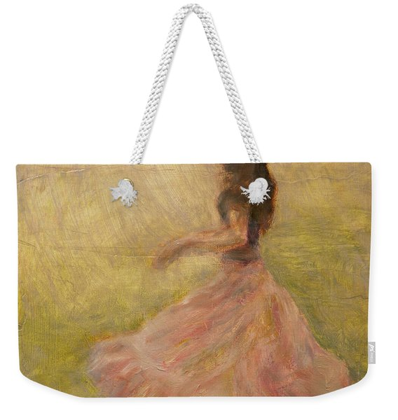 She Dances With The Rain Weekender Tote Bag