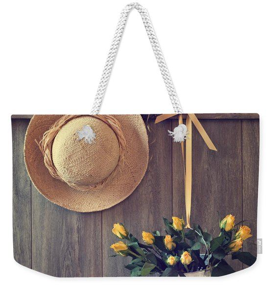 Shed Door Weekender Tote Bag