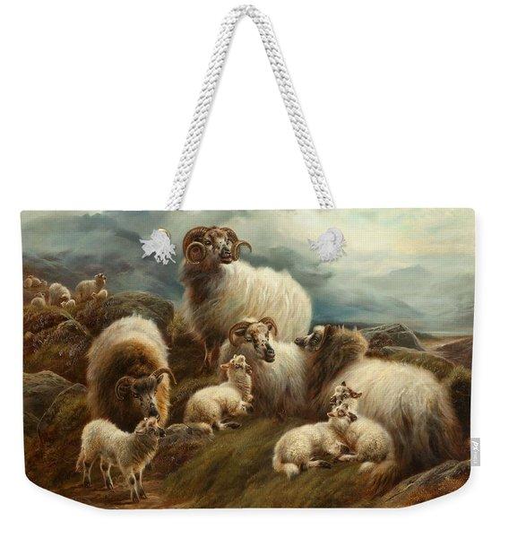 Sheep In A Landscape, 1894 Weekender Tote Bag