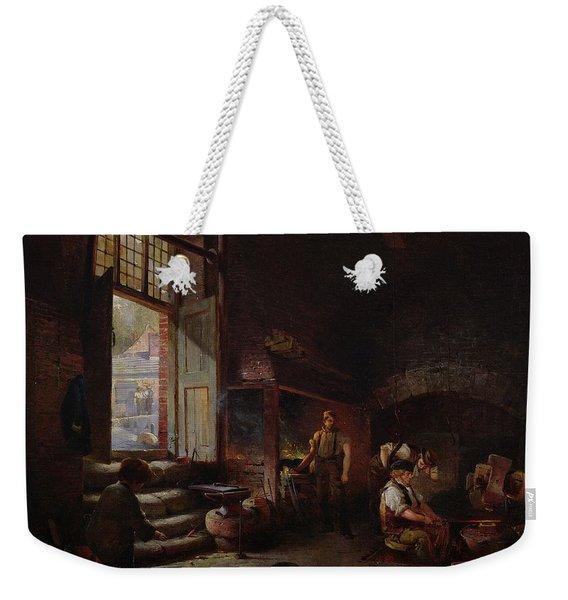 Sheffield Scythe Tilters Weekender Tote Bag