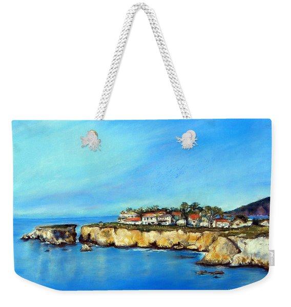 Shell Beach California Weekender Tote Bag