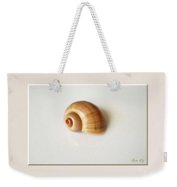 Shell. Delicate Colors Weekender Tote Bag
