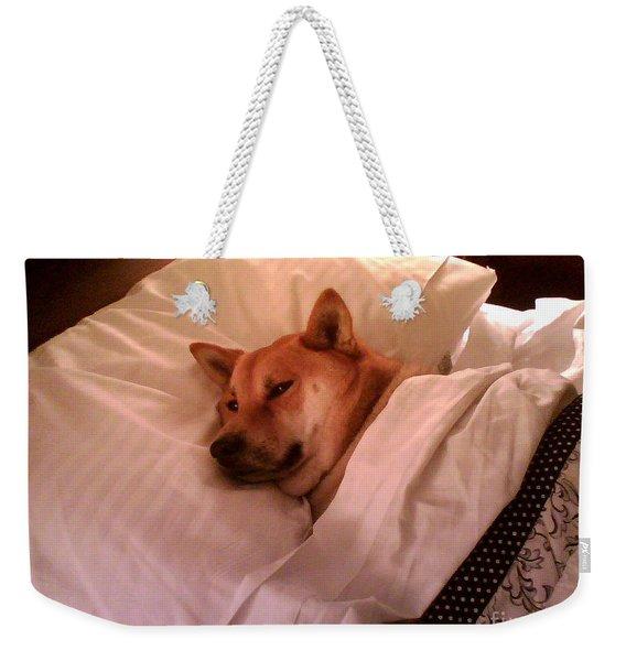 Shiba Inu Kobi-1 Weekender Tote Bag