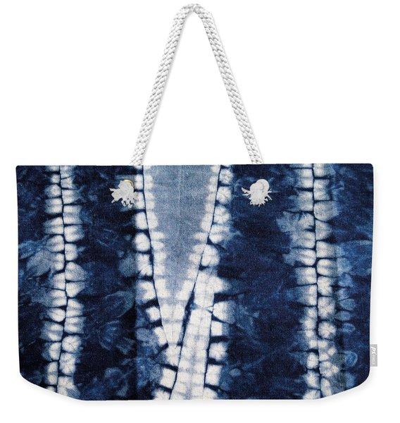 Shibori 3 Weekender Tote Bag