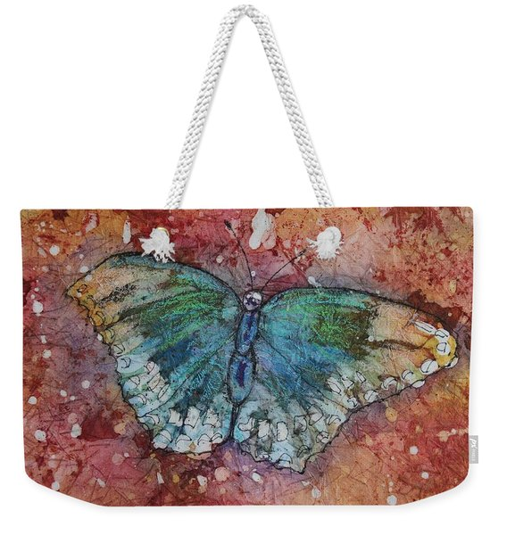 Shimmer Wings Weekender Tote Bag