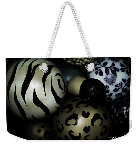 Shimmery Spheres Weekender Tote Bag