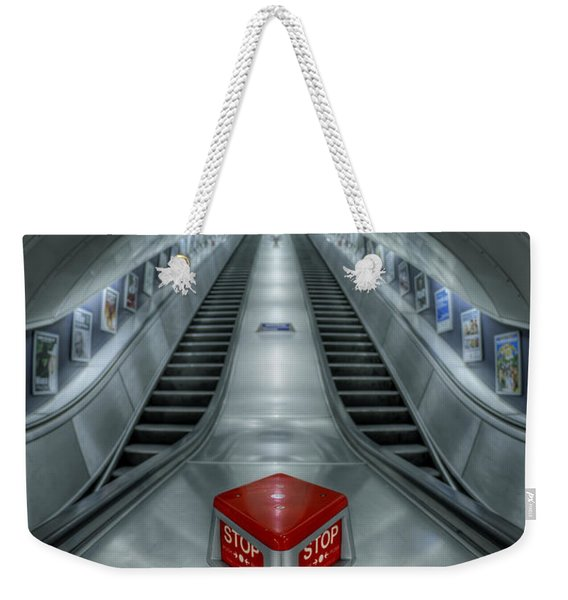 Shine In Silver Weekender Tote Bag