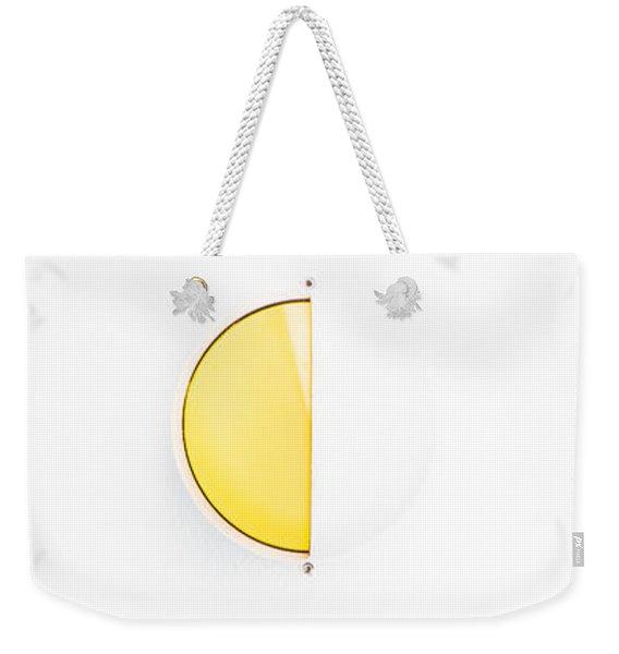Ship Light Weekender Tote Bag