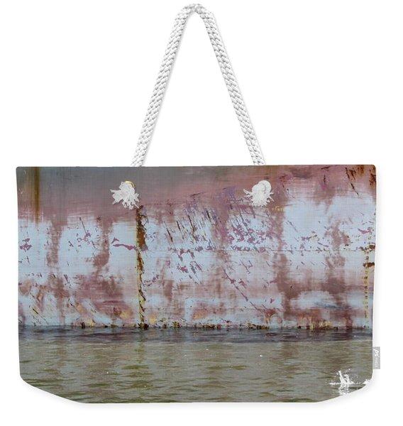 Ship Rust 3 Weekender Tote Bag