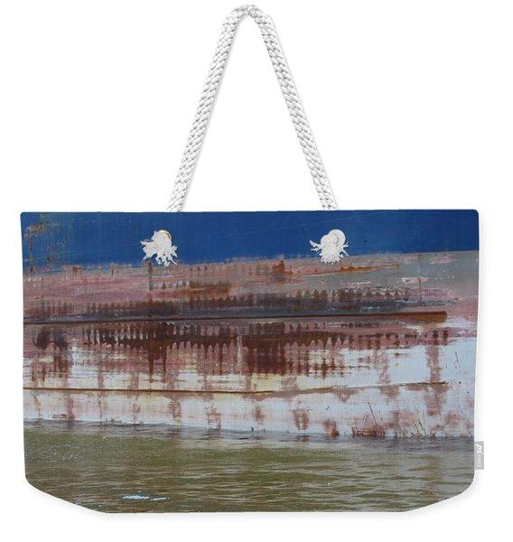 Ship Rust 4 Weekender Tote Bag
