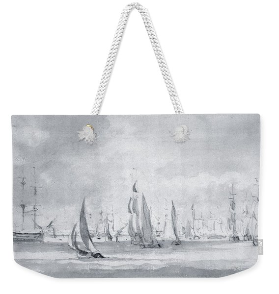 Shipping In The Thames Weekender Tote Bag