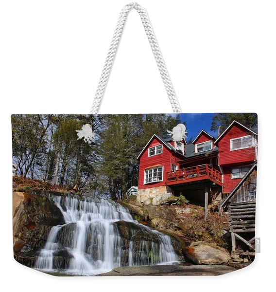 Shoal Creek Falls  Weekender Tote Bag