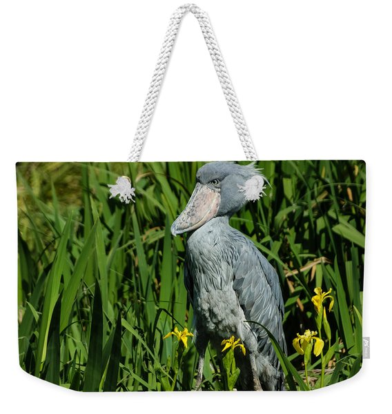 Shoebill Stork Weekender Tote Bag
