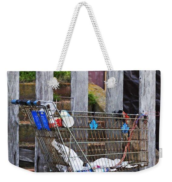 Shopping Cart Weekender Tote Bag
