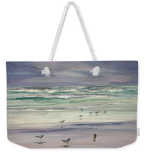 Shoreline Birds IIi Weekender Tote Bag