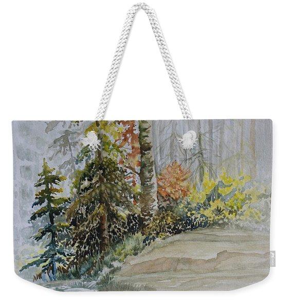 Shoreline Sketch Weekender Tote Bag