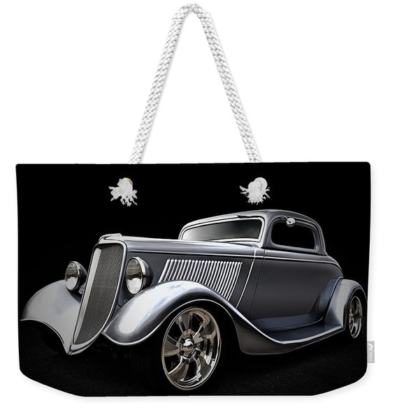 Shovel Ready Weekender Tote Bag