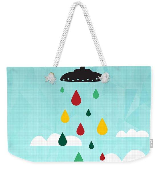 Shower  Weekender Tote Bag