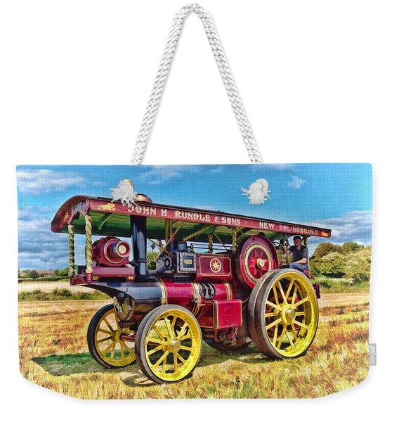 Showmans Engine Weekender Tote Bag