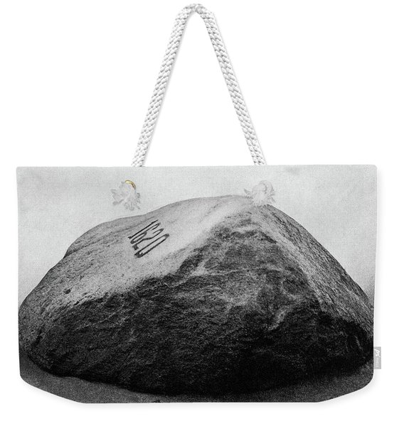 Side View Of Plymouth Rock Ma 1620 Weekender Tote Bag