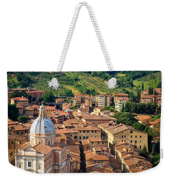 Siena From Above Weekender Tote Bag