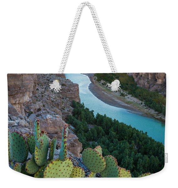 Sierra Del Carmen Weekender Tote Bag