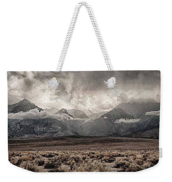Sierra Thunderstorm Weekender Tote Bag